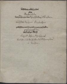 Nachrichten von Schriftstellern und Künstlern in den Teschner Fürstenthum / gesammelt von Leopold Johann Scherschnik, Probsten und Präfekten des k. k. Gymnasiums in Teschen