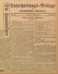 Unterhaltungs-Beilage zum Oberschlesischen Wanderer, 1915, Jg. 88, Nr. 174