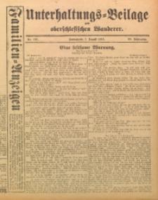 Unterhaltungs-Beilage zum Oberschlesischen Wanderer, 1915, Jg. 88, Nr. 177