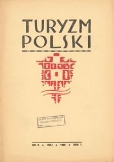Turyzm Polski, 1938, R. 1, nr 5