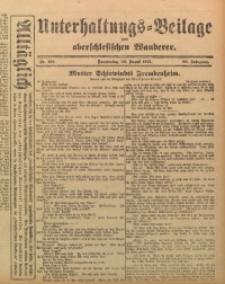 Unterhaltungs-Beilage zum Oberschlesischen Wanderer, 1915, Jg. 88, Nr. 193