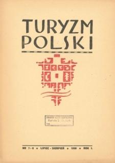 Turyzm Polski, 1938, R. 1, nr 7-8