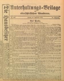 Unterhaltungs-Beilage zum Oberschlesischen Wanderer, 1915, Jg. 88, Nr. 206