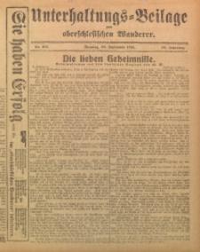 Unterhaltungs-Beilage zum Oberschlesischen Wanderer, 1915, Jg. 88, Nr. 221