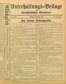 Unterhaltungs-Beilage zum Oberschlesischen Wanderer, 1915, Jg. 88, Nr. 230