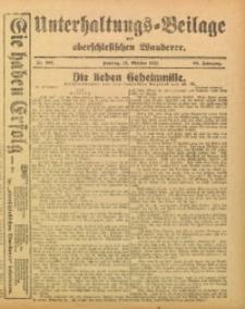 Unterhaltungs-Beilage zum Oberschlesischen Wanderer, 1915, Jg. 88, Nr. 232
