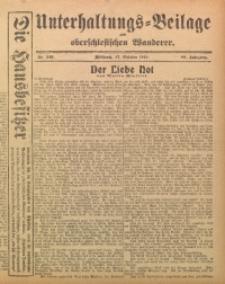Unterhaltungs-Beilage zum Oberschlesischen Wanderer, 1915, Jg. 88, Nr. 246