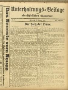 Unterhaltungs-Beilage zum Oberschlesischen Wanderer, 1917, Jg. 90, Nr. 6