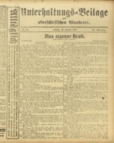 Unterhaltungs-Beilage zum Oberschlesischen Wanderer, 1917, Jg. 90, Nr. 14