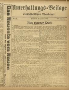 Unterhaltungs-Beilage zum Oberschlesischen Wanderer, 1917, Jg. 90, Nr. 15