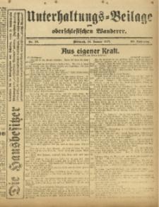 Unterhaltungs-Beilage zum Oberschlesischen Wanderer, 1917, Jg. 90, Nr. 18