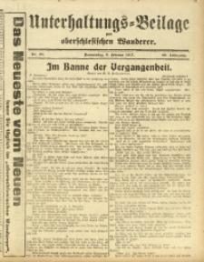 Unterhaltungs-Beilage zum Oberschlesischen Wanderer, 1917, Jg. 90, Nr. 30