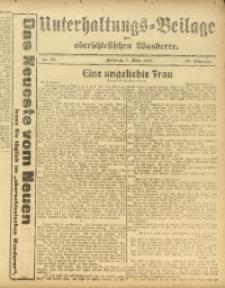 Unterhaltungs-Beilage zum Oberschlesischen Wanderer, 1917, Jg. 90, Nr. 53