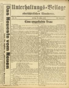 Unterhaltungs-Beilage zum Oberschlesischen Wanderer, 1917, Jg. 90, Nr. 61