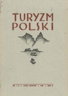 Turyzm Polski, 1939, R. 2, nr 7-8