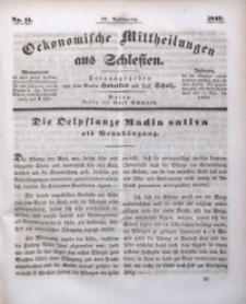Oekonomische Mittheilungen aus Schlesien, 1842, Jg. 4, No. 11