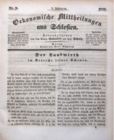 Oekonomische Mittheilungen aus Schlesien, 1843, Jg. 5, No. 9
