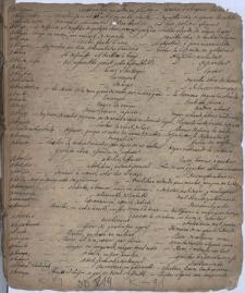 Słownik łacińsko-francusko-hiszpański