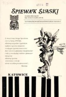 Śpiewak Śląski, 1993, R. 32, nr 4 specjalny