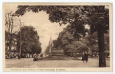 Katowice. Plac Wolności, Pomnik Nieznanego Powstańca