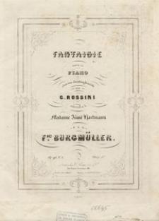 Fantaisie pour le piano sur une Cavatine favorite de Rossini, Op. 96, N. 1