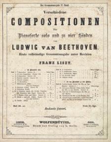 Verschiedene Compositionen für Pianoforte solo und zu vier Händen. H. 18, Andante favori