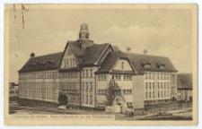 Kattowitz, Ob.-Schles. Neue Volksschule an der Nicolaistraβe