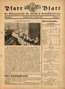 Pfarrblatt der Pfarrgemeinde St. Joseph in Kattowitz-Zalenze, 1941, Jg. 8, Nr. 2