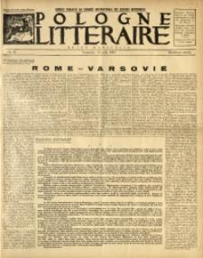 Pologne Littéraire, 1933, A. 8, Nr. 83