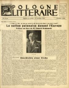 Pologne Littéraire, 1934, A. 9, Nr. 97/98