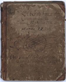 Liber conversorum ab Haeresi Luter[an]a ad Fidem Catholicam per Missionem Caesaream Societatis Jesu, ab Anno 1720mo idq[ue] in Ecclesiae Residentiae ejusdem Societatis Teschinii