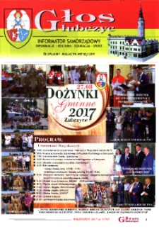 Głos Głubczyc : informator samorządowy : informacje, kultura, edukacja, sport : bezpłatny magazyn miesięczny 2017, nr 9 (292).