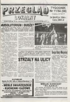 Przegląd Lokalny, 1994, nr 11 (58)