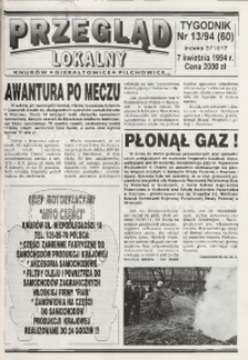 Przegląd Lokalny, 1994, nr 13 (60)