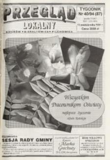 Przegląd Lokalny, 1994, nr 40 (87)