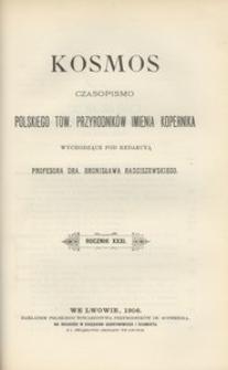 Kosmos, 1906, R. 31