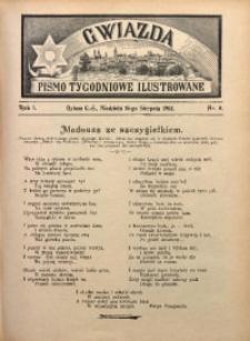 Gwiazda. Pismo Tygodniowe Ilustrowane, 1903, R. 1, Nr. 8