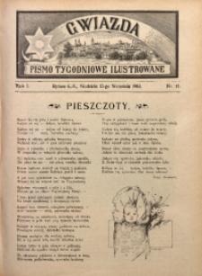 Gwiazda. Pismo Tygodniowe Ilustrowane, 1903, R. 1, Nr. 12