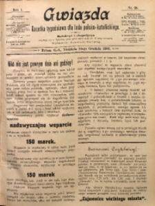 Gwiazda. Gazetka Tygodniowa dla Ludu Polsko-Katolickiego, 1903, R. 1, Nr. 26