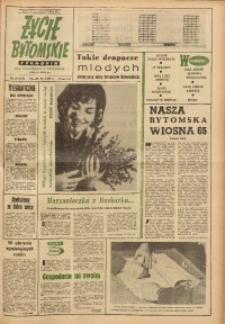 Życie Bytomskie, 1965, R. 9, nr 15 (437)