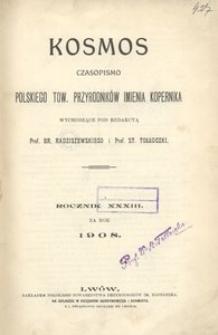 Kosmos, 1908, R. 33