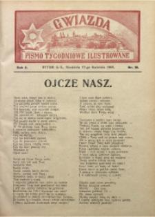 Gwiazda. Pismo Tygodniowe Ilustrowane, 1904, R. 2, Nr. 16