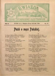 Gwiazda. Pismo Tygodniowe Ilustrowane, 1904, R. 2, Nr. 17