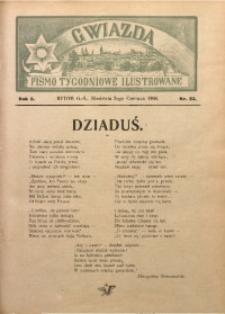 Gwiazda. Pismo Tygodniowe Ilustrowane, 1904, R. 2, Nr. 23