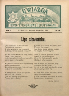 Gwiazda. Pismo Tygodniowe Ilustrowane, 1904, R. 2, Nr. 28