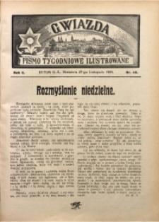 Gwiazda. Pismo Tygodniowe Ilustrowane, 1904, R. 2, Nr. 48