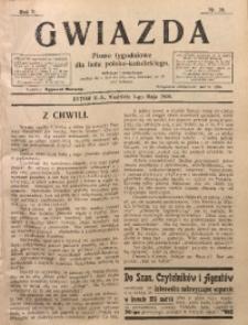 Gwiazda. Pismo Tygodniowe dla Ludu Polsko-Katolickiego, 1904, R. 2, Nr. 18