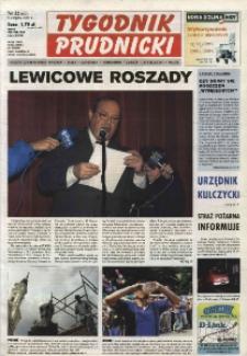 Tygodnik Prudnicki : gazeta lokalna gmin : Prudnik, Biała, Głogówek, Korfantów, Lubrza, Strzeleczki, Walce. R. 14, nr 32 (662).