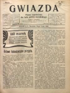 Gwiazda. Pismo Tygodniowe dla Ludu Polsko-Katolickiego, 1904, R. 2, Nr. 28