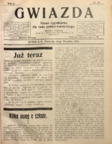 Gwiazda. Pismo Tygodniowe dla Ludu Polsko-Katolickiego, 1904, R. 2, Nr. 38